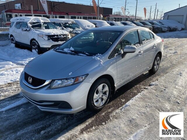 2014 Honda Civic Sedan LX Calgary AB