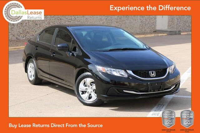 2014 Honda Civic Sedan LX Dallas TX
