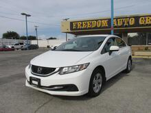2014_Honda_Civic Sedan_LX_ Dallas TX