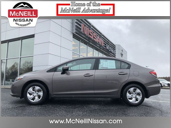 2014 Honda Civic Sedan LX High Point NC