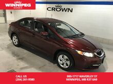 2014_Honda_Civic Sedan_LX/One owner/Lease return/#1 selling car in canada_ Winnipeg MB