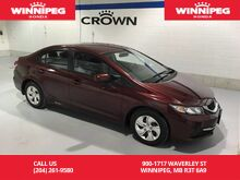 2014_Honda_Civic Sedan_LX/One owner/Low Kilometres_ Winnipeg MB