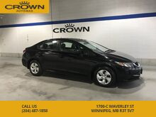 2014_Honda_Civic Sedan_LX Sedan ** Heated Seats ** Honda Reliability** No Accidents**_ Winnipeg MB