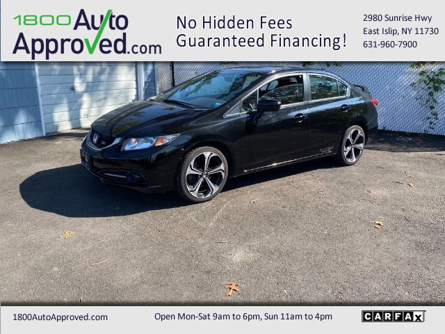 2014 Honda Civic Si Sedan 6-Speed MT Patchogue NY
