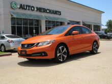 2014_Honda_Civic_Si Sedan 6-Speed MT RED CLOTH SEATS,, SUNROOF, BACKUP CAMERA, RIGHT BLIND SPOT CAMERA, KEYLESS START_ Plano TX