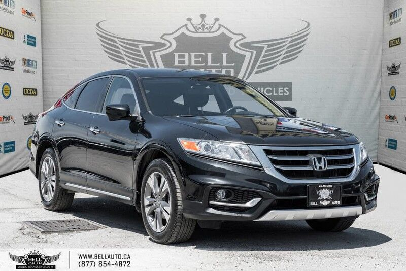 2014 Honda Crosstour EX-L, AWD, BACK-UP CAM, SUNROOF, LEATHER, BLUETOOTH