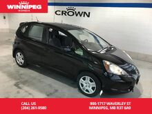 2014_Honda_Fit_ST PATTY'S DAY SPECIAL/One owner/Lease return/Low KM_ Winnipeg MB