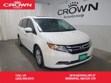 2014_Honda_Odyssey_EX-L/ heated seats/back up cam/sunroof/one owner/low kms_ Winnipeg MB