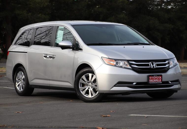 2014 Honda Odyssey Ex-l Minivan Vacaville CA