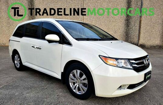 2014 Honda Odyssey REAR VIEW CAMERA, BLIND SPOT MONITOR, LEATHER, AND MUCH MORE!!! EX-L CARROLLTON TX