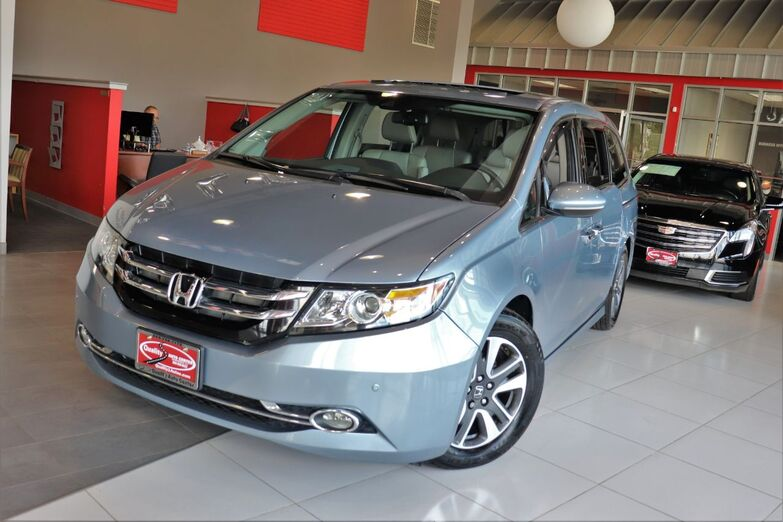 2014 Honda Odyssey Touring Elite Navigation Sunroof Entertainment System Leather Seats Blind Spots Backup Camera 1 Owner Springfield NJ