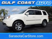 2014_Honda_Pilot_TOURING! 1-OWNER! WHITE/ LIGHT GRAY LEATHER! GREAT FLORIDA COLORS! FL CAR! ONLY 56K MILES! 3RD ROW! CARFAX! CLEAN!_ Sarasota FL