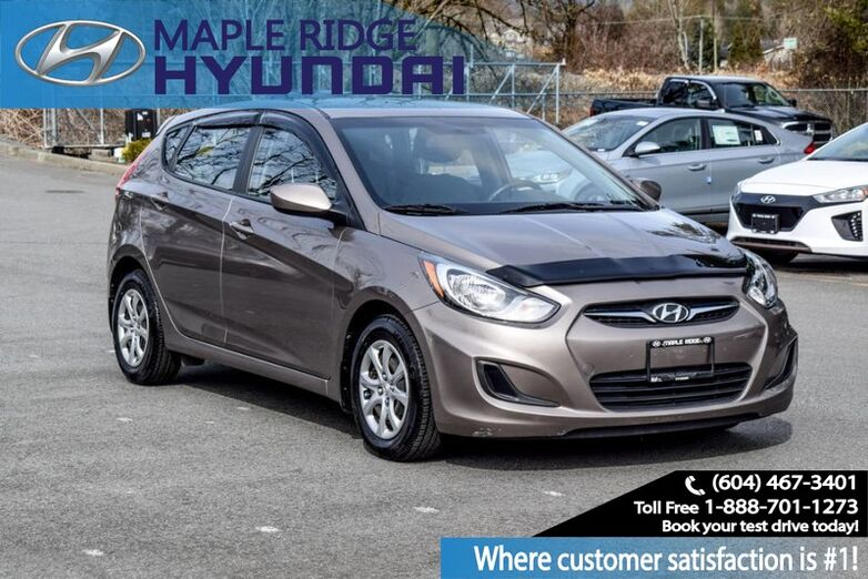 2014 Hyundai Accent 5dr HB Auto GL Maple Ridge BC