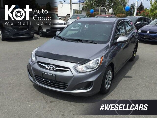 2014 Hyundai Accent GL Hatchback Manual Transmission, No Accidents, Heated Front Seats Victoria BC