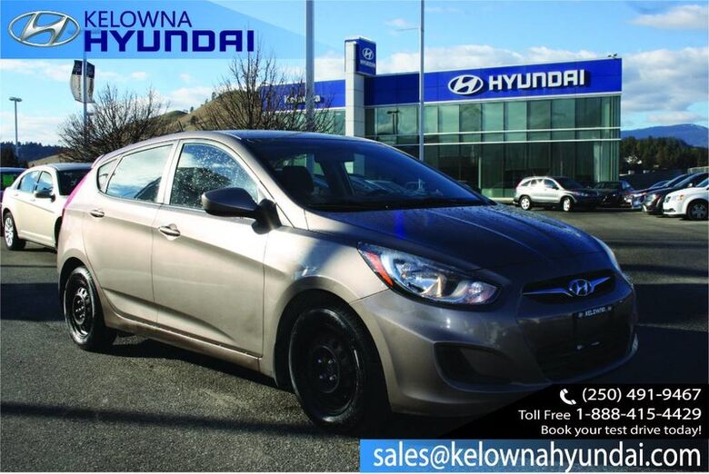 2014 Hyundai Accent GL No Accident Kelowna BC