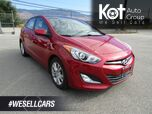 2014 Hyundai ELANTRA GT GLS MANUAL! 1 OWNER! BC OWNED! PANORAMIC SUNROOF! HEATED SEATS! BLUETOOTH!