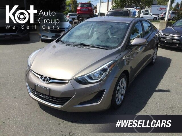 2014 Hyundai Elantra GL GREAT ON GAS! PERFECT CITY VEHICLE! Victoria BC
