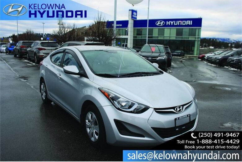 2014 Hyundai Elantra GL Low Kms No Accident !! Kelowna BC