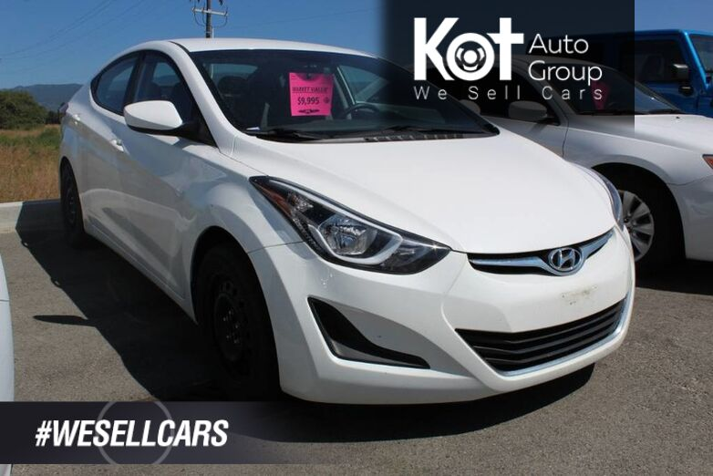 2014 Hyundai Elantra GL, No Reported Accidents Kelowna BC