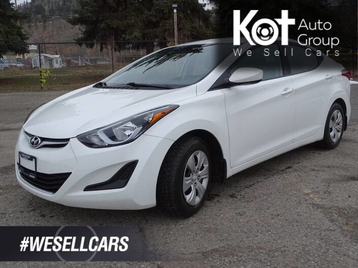 2014 Hyundai Elantra L, Low KM's, Manual Transmission Kelowna BC