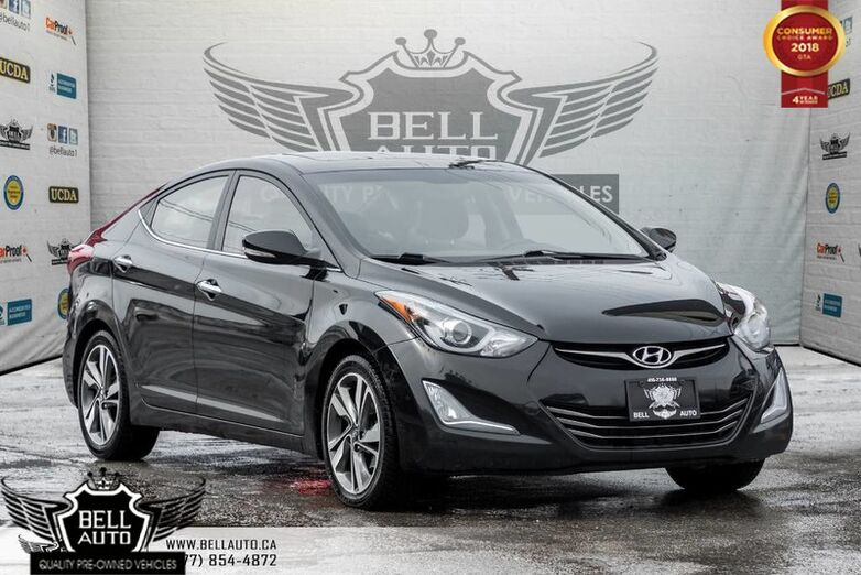 2014 Hyundai Elantra Limited, BACK-UP CAM, LEATHER, HEATED SEATS, SUNROOF Toronto ON