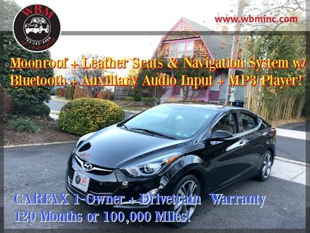 2014_Hyundai_Elantra_Limited w/ Technology Package_ Arlington VA