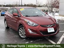 2014 Hyundai Elantra SE South Burlington VT