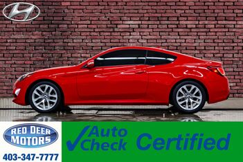 2014_Hyundai_Genesis Coupe_Premium Leather Roof Nav BCam_ Red Deer AB