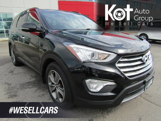 2014 Hyundai SANTA FE XL LUXURY AWD! 7 PASSENGER! LEATHER! SUNROOF! 1 OWNER! Kelowna BC