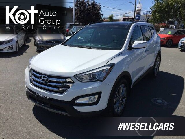 2014 Hyundai Santa Fe SE 2.0T AWD ONE OWNER! NO ACCIDENTS! PANORAMIC SUNROOF! Kelowna BC