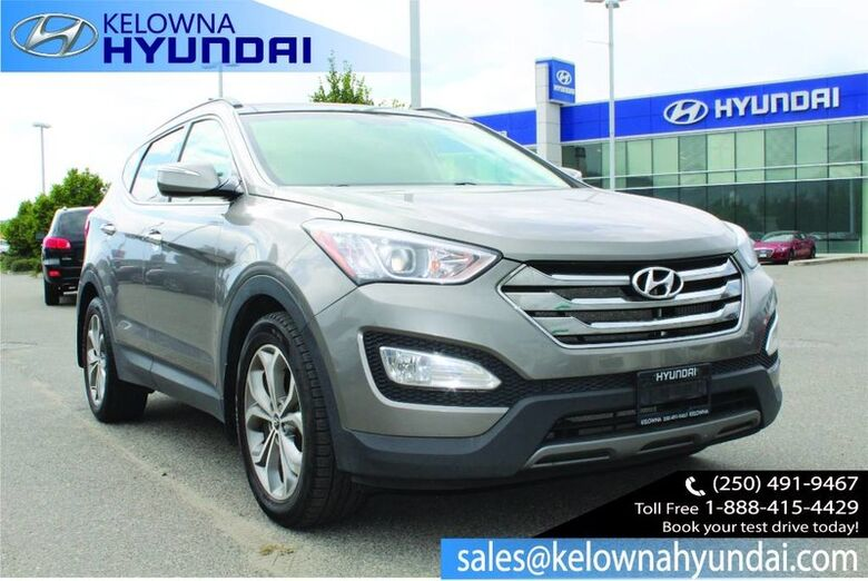 2014 Hyundai Santa Fe Sport LIMITED Bluetooth, Heated Front seats, Nav, leather, Sunroof CPO 3.99% Kelowna BC