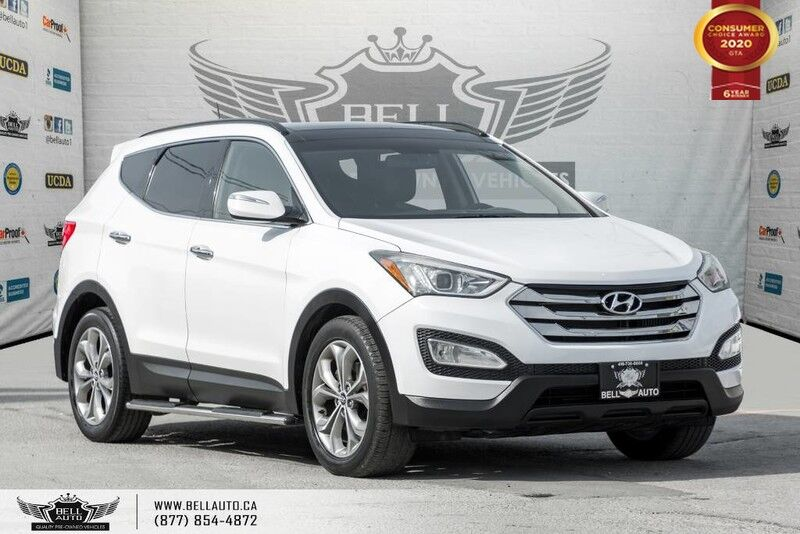 2014 Hyundai Santa Fe Sport Limited, AWD, NAVI, BACK-UP CAM, SENSORS, PANO ROOF