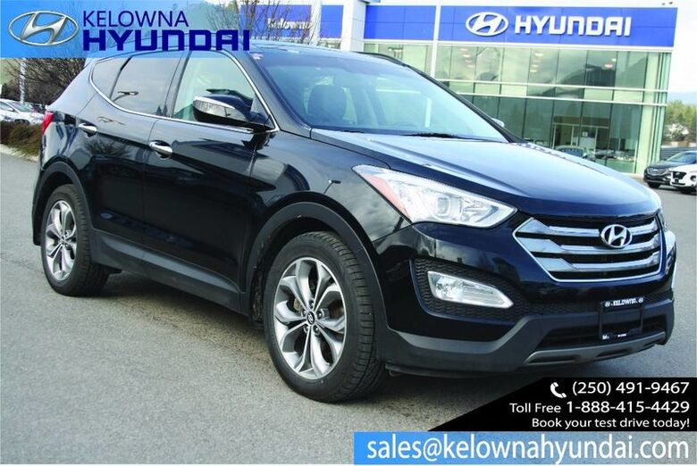 2014 Hyundai Santa Fe Sport Limited Nav, Leather, Sunroof, Back up cam Kelowna BC