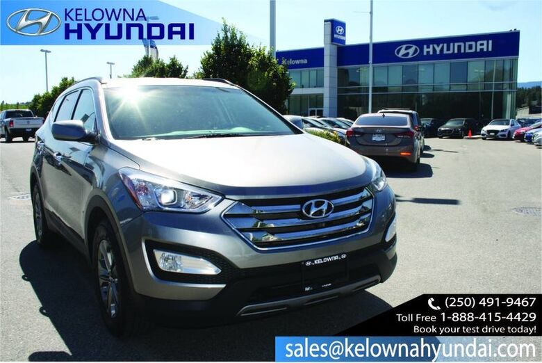 2014 Hyundai Santa Fe Sport Premium 2.0T Bluetooth, Heated Front seats, Back up sensor CPO 3.99% Penticton BC
