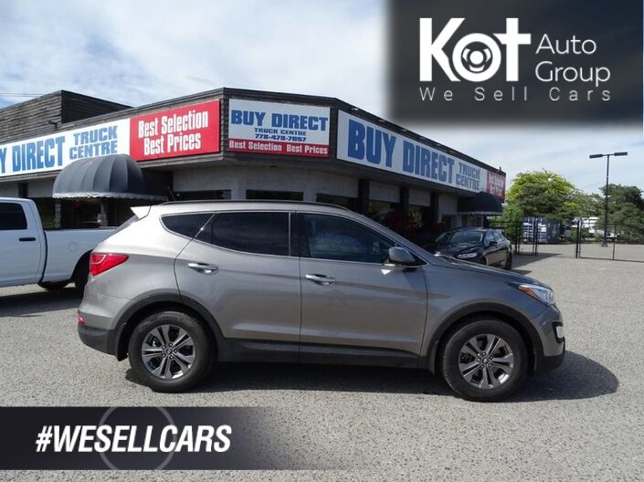 2014 Hyundai Santa Fe Sport Premium, Heated Seats and Steering Wheel, Back-up Sensor, Eco Mode Kelowna BC