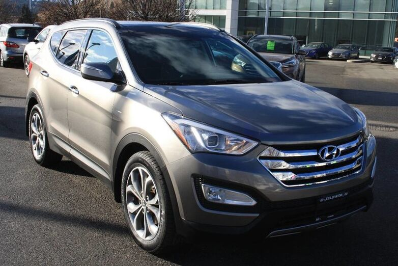 2014 Hyundai Santa Fe Sport SE Heated seats, Bluetooth, Power options, Leather, Sunroof. Penticton BC