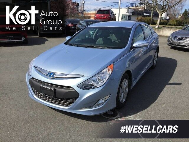 2014 Hyundai Sonata Hybrid PREMIUM! SAVE ON GAS TODAY! PERFECT VICTORIA UNIT! Kelowna BC