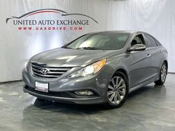 2014_Hyundai_Sonata_Limited / 2.4L 4-Cyl Engine / FWD / Dual Sunroof / Navigation / Bluetooth / Rear View Camera / Push Start / Heated and Ventilated Driver Seat / Blind Spot Detection / Infinity Premium Sound System_ Addison IL