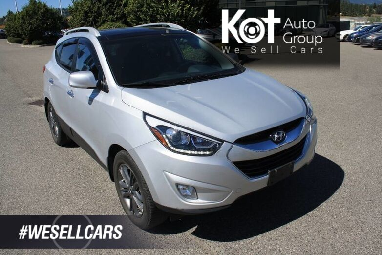 2014 Hyundai Tucson GLS SUNROOF! HEATED SEATS! ALLOY WHEELS! AWD! Kelowna BC
