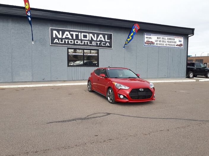 2014 Hyundai Veloster Turbo - HEATED STEERING WHEEL - HEATED LEATHER- PANORAMIC ROOF Lethbridge AB