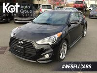 Hyundai Veloster Turbo Navigation! Push-Button Start, Panoramic Sunroof! 2014
