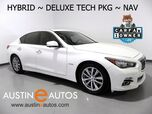 2014 INFINITI Q50 Hybrid Premium *DELUXE TECHNOLOGY PKG, NAVIGATION, BLIND SPOT ALERT, COLLISION ALERTS, SURROUND CAMERAS, MOONROOF