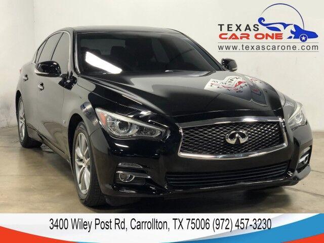 2014 INFINITI Q50 PREMIUM AWD NAVIGATION SUNROOF LEATHER HEATED SEATS REAR CAMERA KEYLESS START Carrollton TX