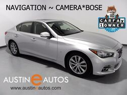 2014_INFINITI_Q50 Premium_*NAVIGATION, BACKUP-CAMERA, BOSE, HEATED SEATS, MOONROOF, BLUETOOTH PHONE & AUDIO_ Round Rock TX