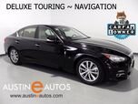 2014 INFINITI Q50 Premium *NAVIGATION, DELUXE TOURING PKG, BACKUP-CAM, BOSE, HEATED SEATS, MOONROOF, BLUETOOTH PHONE & AUDIO