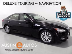 2014_INFINITI_Q50 Premium_*NAVIGATION, DELUXE TOURING PKG, BACKUP-CAM, BOSE, HEATED SEATS, MOONROOF, BLUETOOTH PHONE & AUDIO_ Round Rock TX