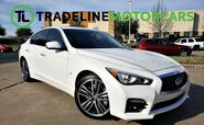2014 INFINITI Q50 SPORT WITH BLIND SPOT MONITOR, NAV, BOSE SOUND, BACKUP CAM, AND MUCH MORE!