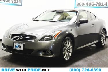INFINITI Q60 Coupe 56k all wheel drive coupe 6 cylinders 2014