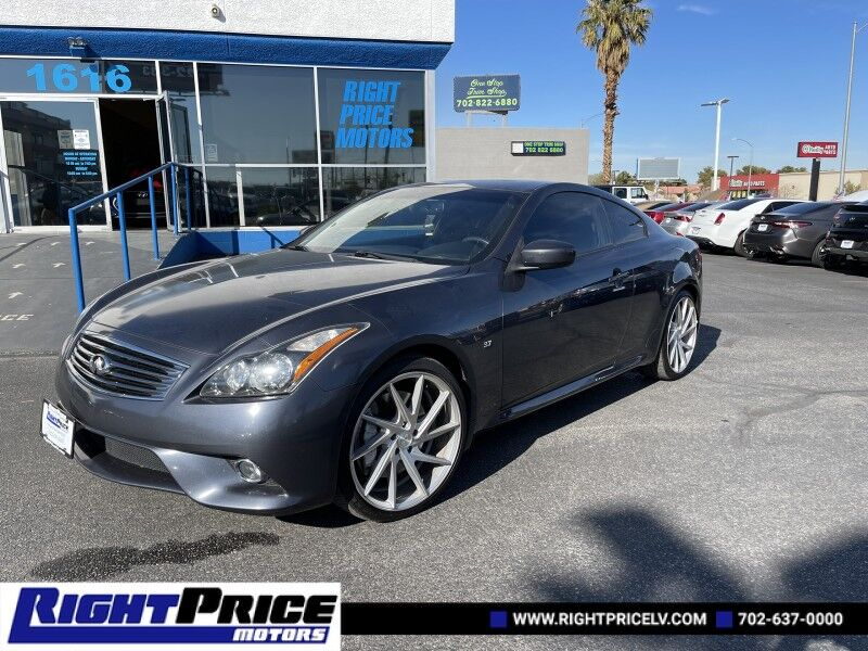 2014 INFINITI Q60 Coupe Journey Las Vegas NV