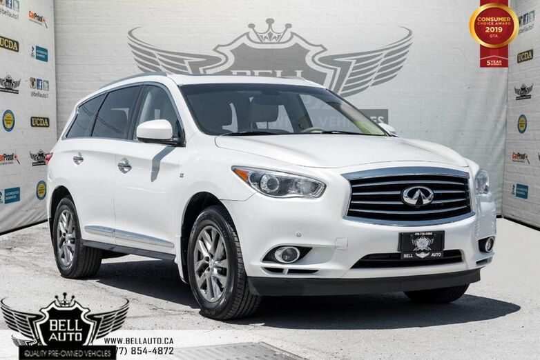 2014 INFINITI QX60 360 CAM, NAVI, SUNROOF, SENSORS, PUSH START Toronto ON